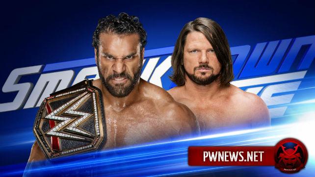 Возможные условия в матче Джиндера Махала и ЭйДжей Стайлза на SmackDown