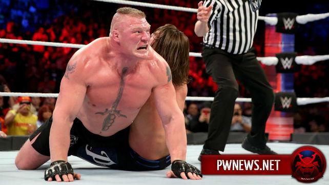 Брок Леснар на самом деле не травмирован