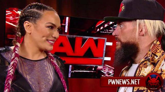 Известна причина сегмента Энцо Аморе и Найи Джэкс на последнем Raw