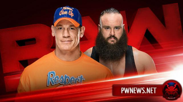 Два больших поединка и сегмент анонсированы на Raw