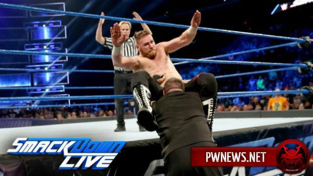 Как поединок Сэми Зейна и Кевина Оуэнса повлиял на просмотры SmackDown?