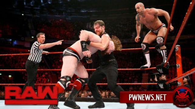 Как командный матч в мэйн-ивенте и фактор предварительной записи шоу повлияли на просмотры Raw?