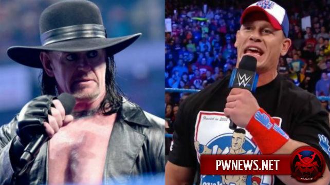 Возможный спойлер подводки Гробовщика и Джона Сины к матчу на WrestleMania 34