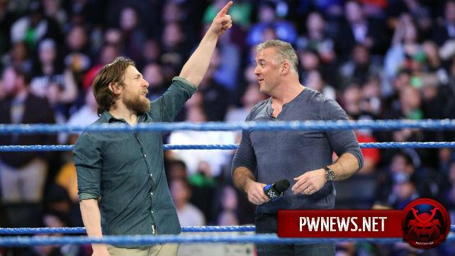 Дэниал Брайан ответил на слухи об объединении с Шейном МакМэном в команду на WrestleMania 34