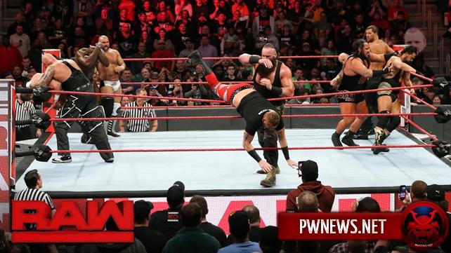 Как баттл-роял за первое претендентство на командное чемпионство повлиял на просмотры прошедшего Raw?