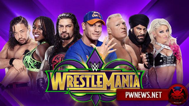 Известны матчи, которые пройдут на пре-шоу WrestleMania 34