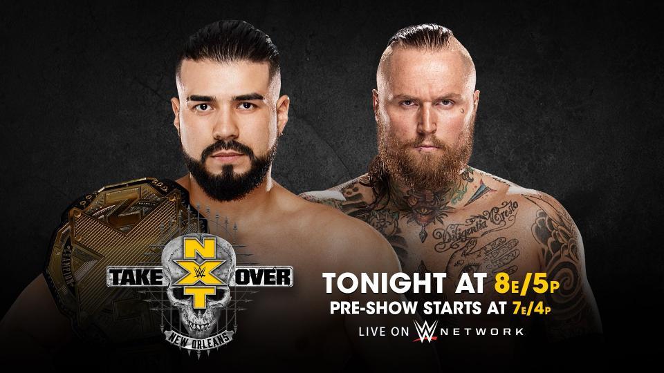 Результаты NXT TakeOver: Новый Орлеан