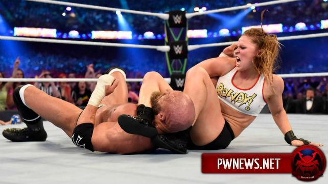 Закулисная реакция на выступление Ронды Раузи и оригинальная концовка её матча на WrestleMania 34