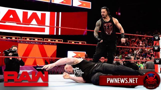 Как последняя встреча лицом к лицу Брока Леснара и Романа Рейнса, перед их матчем на WrestleMania 34, повлияла на просмотры прошедшего Raw?