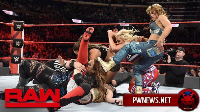 Как большой женский командный поединок в мейн-ивенте шоу повлиял на просмотры прошедшего Raw?