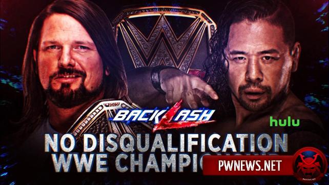 Дополнительное условие назначено матчу за титул WWE, анонсирован матч за титул США на Backlash