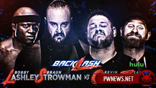 Большой командный матч анонсирован на Backlash 2018; Обновленный кард следующего PPV-шоу