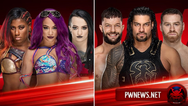 Два квалификационных поединка к MitB анонсированы на сегодняшний эфир Raw