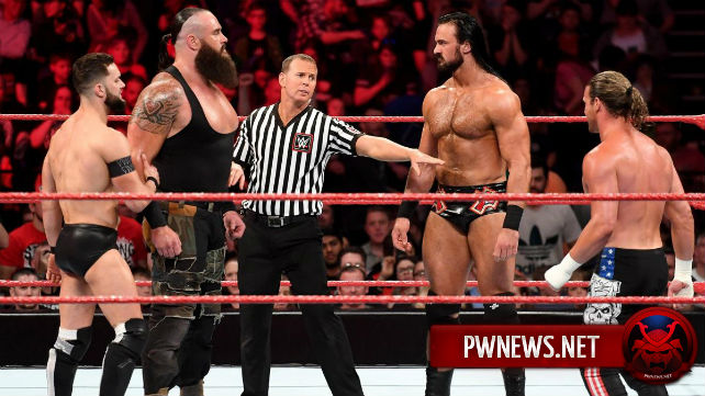 Внеплановый инцидент со статуэткой Greatest Royal Rumble произошел на последнем Raw