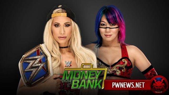 Титульный матч за чемпионство среди женщин SmackDown анонсирован на Money in the Bank 2018 (спойлеры с записей SmackDown)