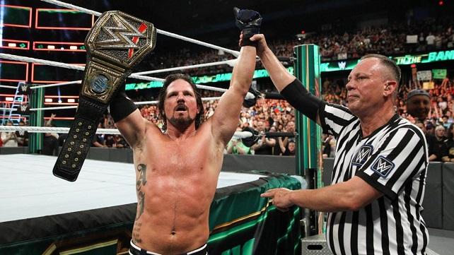 Известна причина, по которой ЭйДжей Стайлз остается чемпионом WWE