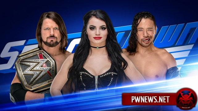 Назначен сегмент на следующий SmackDown; WWE уволили участницу Mae Young Classic