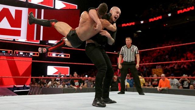 Известна причина чистой победы Бэрона Корбина над Финном Бэлором на Raw