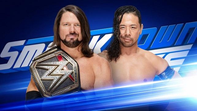 Матч Стайлза и Накамуры анонсирован на SmackDown