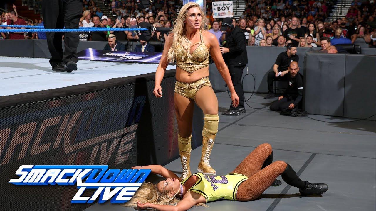 Как поединок Шарлотт Флэр и Кармеллы повлиял на телевизионные рейтинги прошедшего SmackDown?