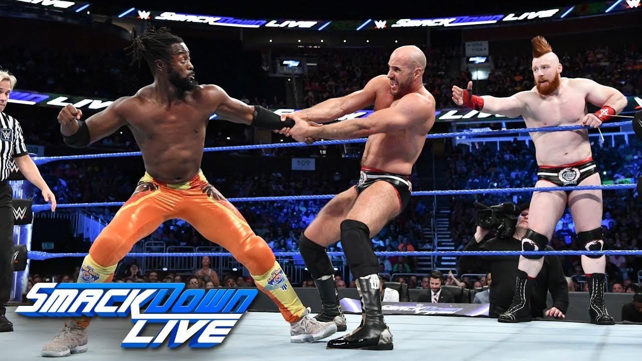 Как поединок Нового Дня против Шеймуса и Сезаро повлиял на телевизионные рейтинги прошедшего SmackDown?