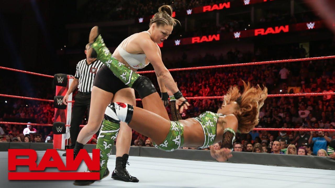 Как поединок Ронды Раузи и Алишы Фокс повлиял на телевизионные рейтинги прошедшего Raw?