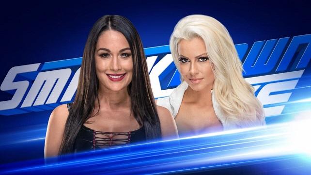 Бри Белла и Марис проведут матч в мэйн-ивенте SmackDown