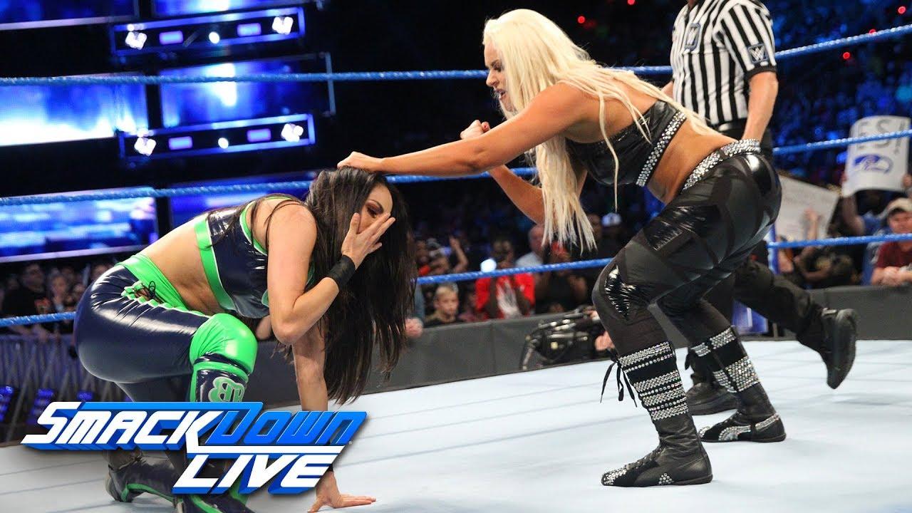 Как поединок Бри Беллы и Марис повлиял на телевизионные рейтинги прошедшего SmackDown?
