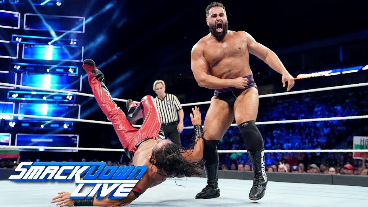Как поединок Шинске Накамуры и Русева повлиял на телевизионные рейтинги прошедшего SmackDown?