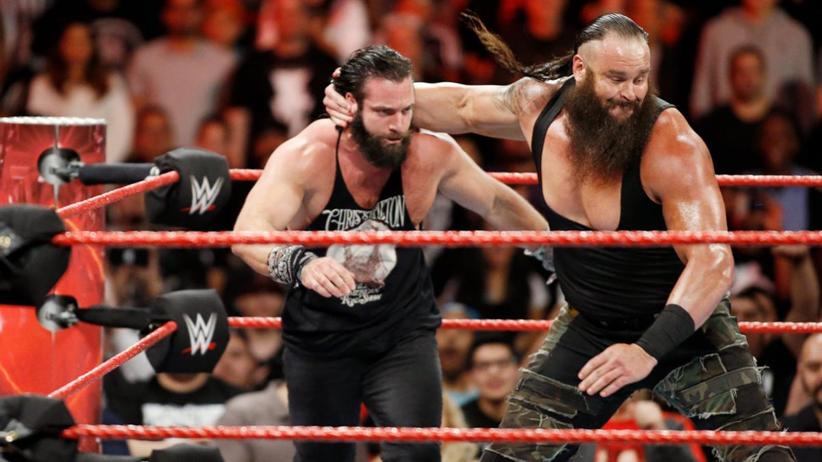 Причина изменений в характерах Элайаса и Брона Строумэна на последнем Raw