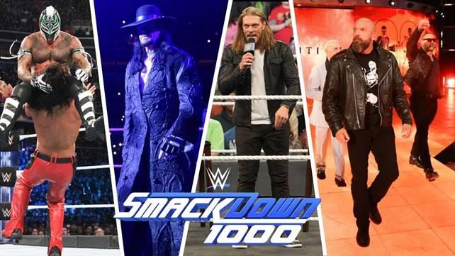 Как фактор юбилейного эпизода повлиял на телевизионные рейтинги прошедшего SmackDown 1000?