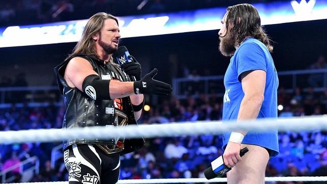 Как WWE удержали в секрете план провести матч Дэниела Брайана и ЭйДжей Стайлза на SmackDown?