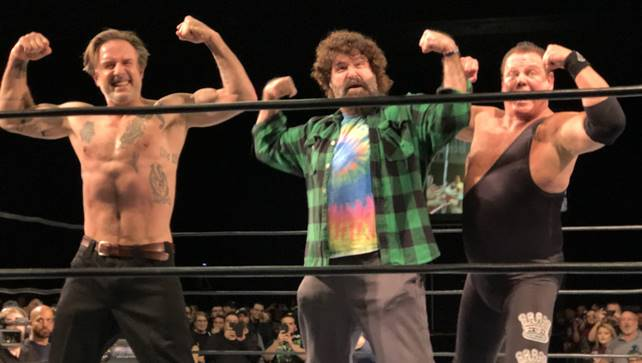 Джерри Лоулер провел поединок на шоу Northeast Wrestling Redemption
