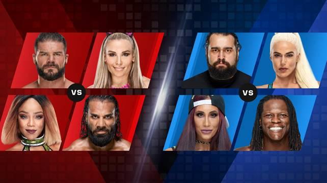 Объявлены матчи на следующий эпизод Mixed Match Challenge; Результаты, просмотры и турнирная таблица восьмого эпизода