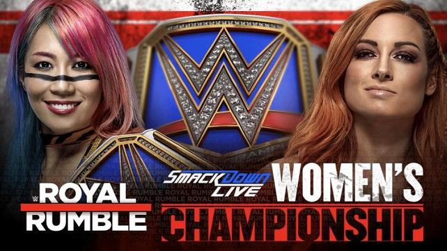 Детали снятия матча Бекки Линч и Аски с PPV Royal Rumble