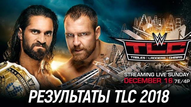 Результаты WWE TLC 2018