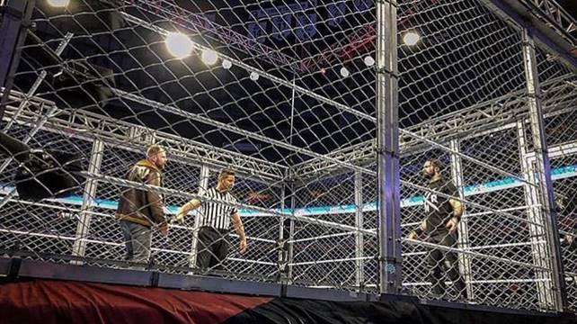 Результаты хаус-шоу: 30.12 (Буффало, Нью-Йорк) — Новая ринг-аттира Брэя Уайатта; Матч Эмброуза против Роллинса в клетке в мейн-ивенте