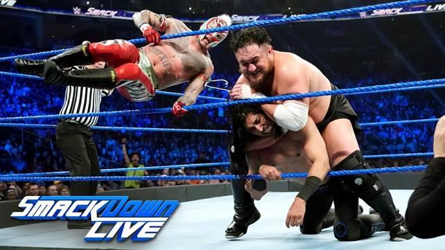 Как матч за претендентство на чемпионство WWE повлиял на телевизионные рейтинги первого эпизода SmackDown в 2019 году?