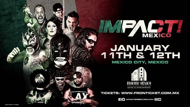 Большое событие произошло на записях Impact Wrestling в Мексике (ВНИМАНИЕ, спойлеры)