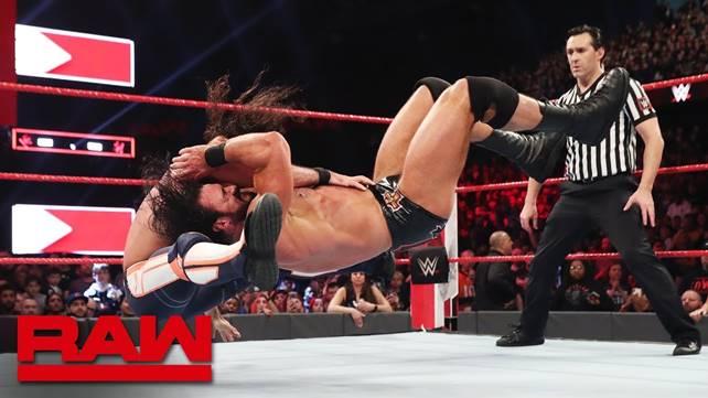 Как поединок Сета Роллинса против Дрю Макинтайра и появление Брока Леснара повлияло на телевизионные рейтинги прошедшего Raw?