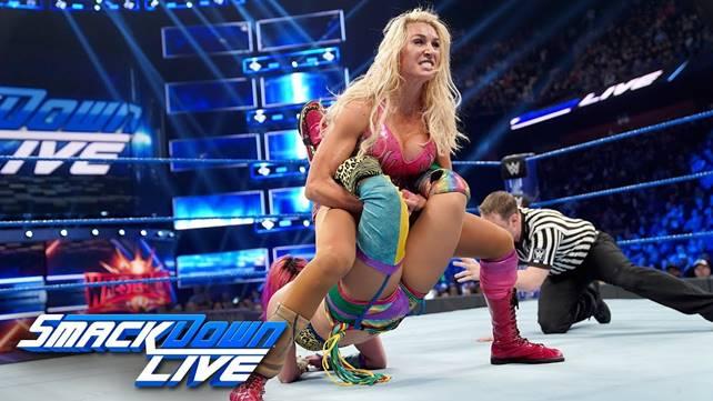 Как титульный поединок Аски и Шарлотт Флэр повлиял на телевизионные рейтинги прошедшего SmackDown?