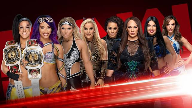 Командный женский матч назначен на грядущий эфир Raw