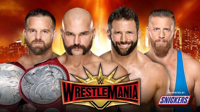 Матч за командные титулы Raw официально назначен на WrestleMania 35
