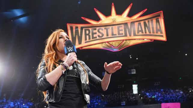 Заметка о сопернице Бекки Линч на WrestleMania 36; Когда Винс МакМэн решил ввести