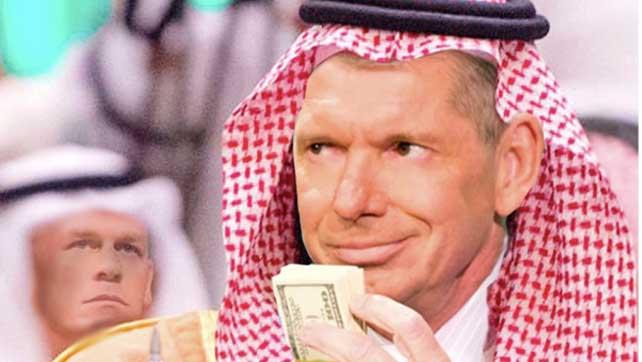 WWE ничего не контролируют в сделке с Саудовской Аравии