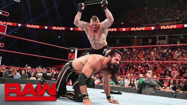 Как обещанный кэш-ин Брока Леснара на Сете Роллинсе повлиял на телевизионные рейтинги последнего эпизода Raw перед Super ShowDown?