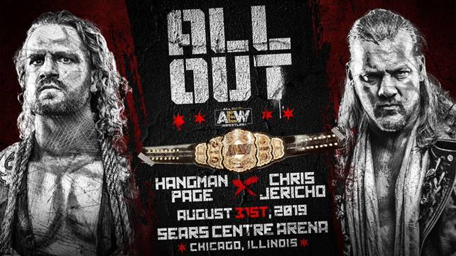 Матч за чемпионство AEW анонсирован на All Out