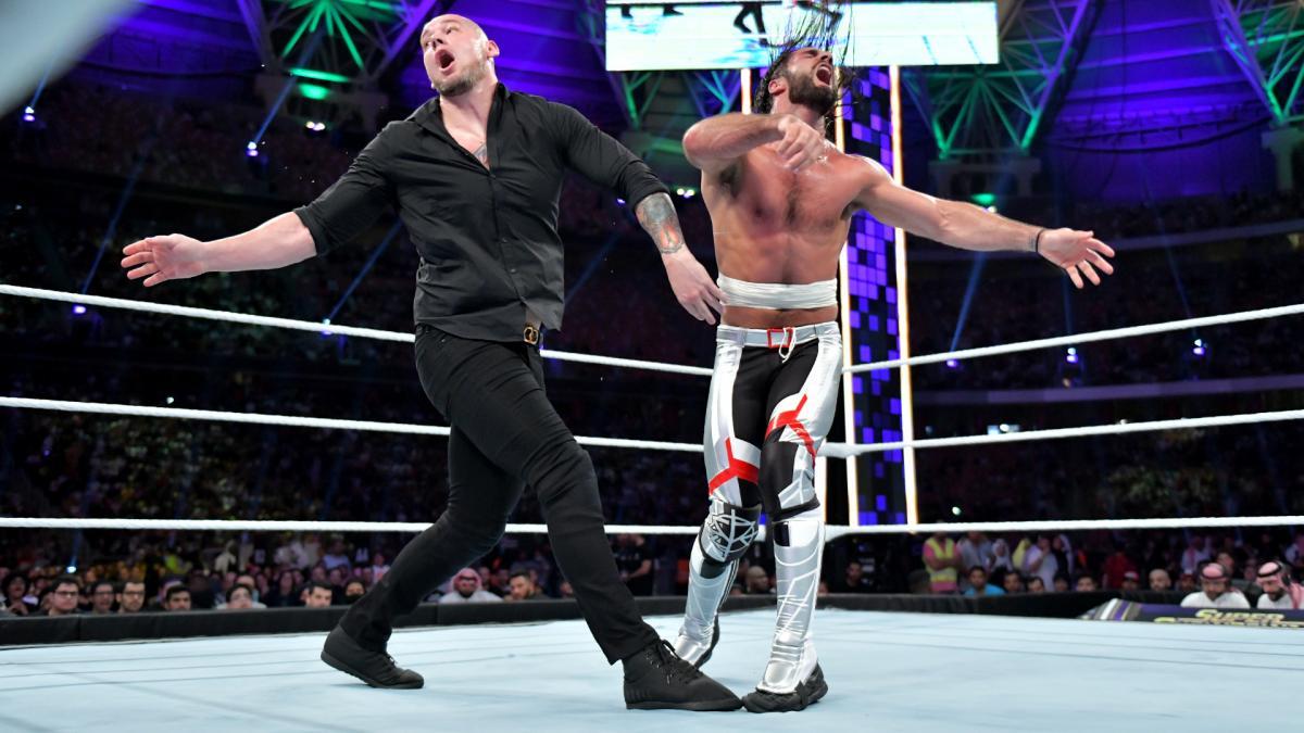 Крис Джерико назвал фьюд Бэрона Корбина и Сэта Роллинса иллюстрацией того, что не так с WWE