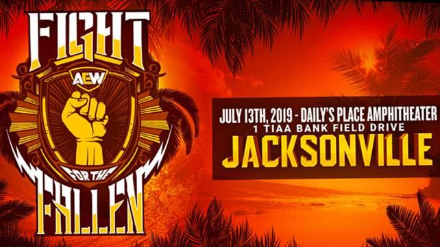 Новый командный матч анонсирован на AEW Fight For The Fallen