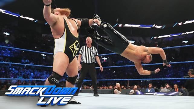 Как командный поединок Кевина Оуэнса и Дольфа Зигглера против Тяжёлой Машинерии повлиял на телевизионные рейтинги прошедшего SmackDown?